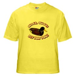 Duck Phone Shirt