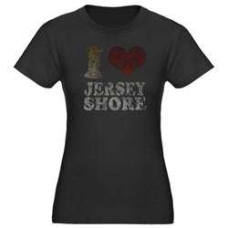 I Love Jersey Shore Shirt