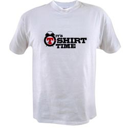 It's T-Shirt Time White Shirt